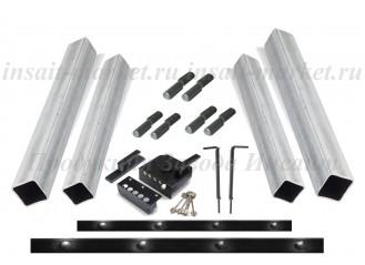 Комплект для монтажа ворот и калитки с ответными столбами