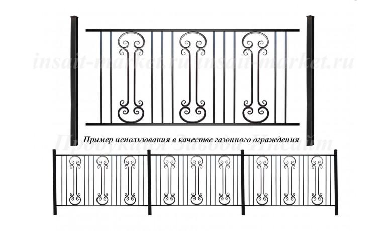 Ограждение ГО-36/3 Ар-Деко