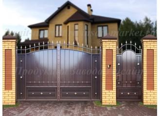 """Ворота """"Дворянские"""" Сетка"""