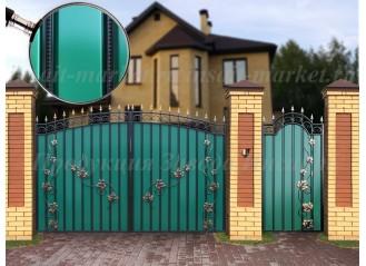 """Ворота """"МПА"""" Лоза 2 Ар-Деко"""