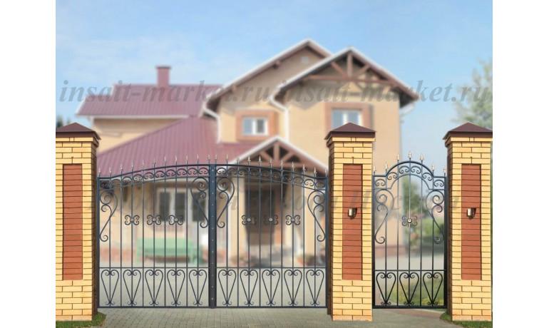 """Ворота """"Узорные-Лайт"""""""