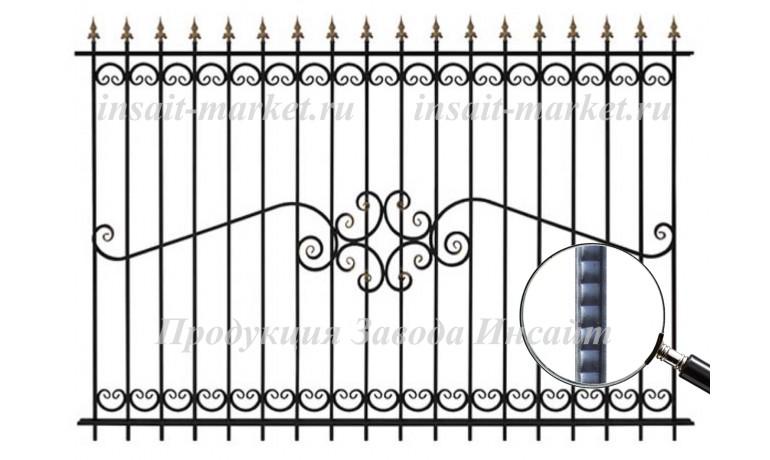 Забор ОС-Т 15-52 (В140) Ар-Деко