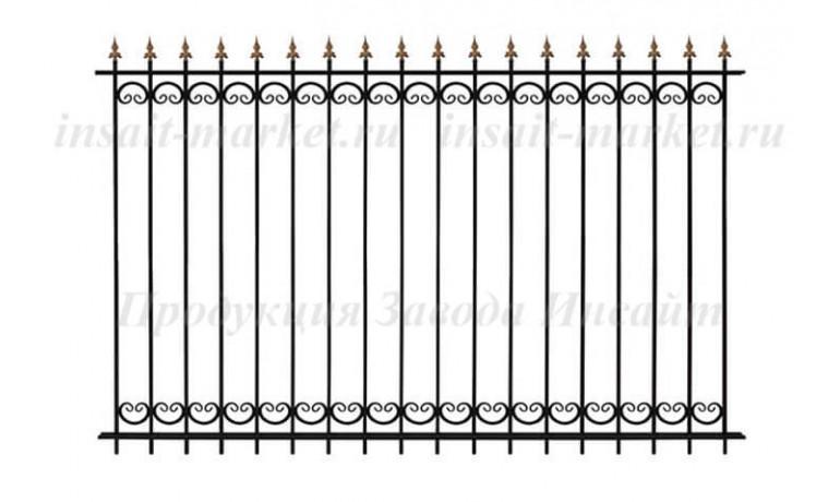 Забор Секция ОС-Т15-02 (В140)