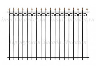 Забор Секция ОС-Т15-01 (В140)