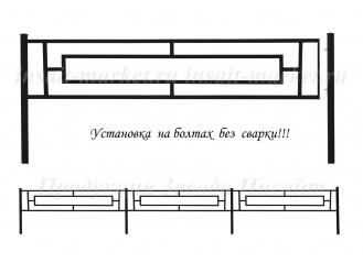 Ограждение Прямоугольник-25