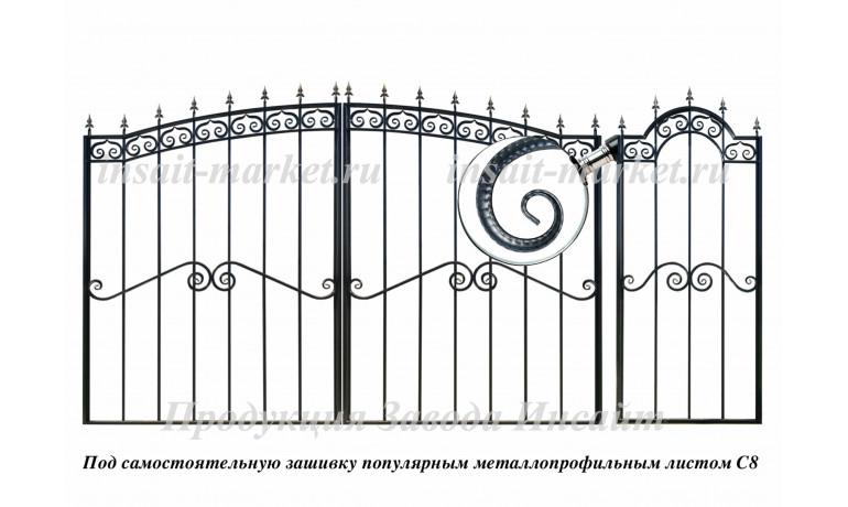 Каркас арочных ворот С8 Арт