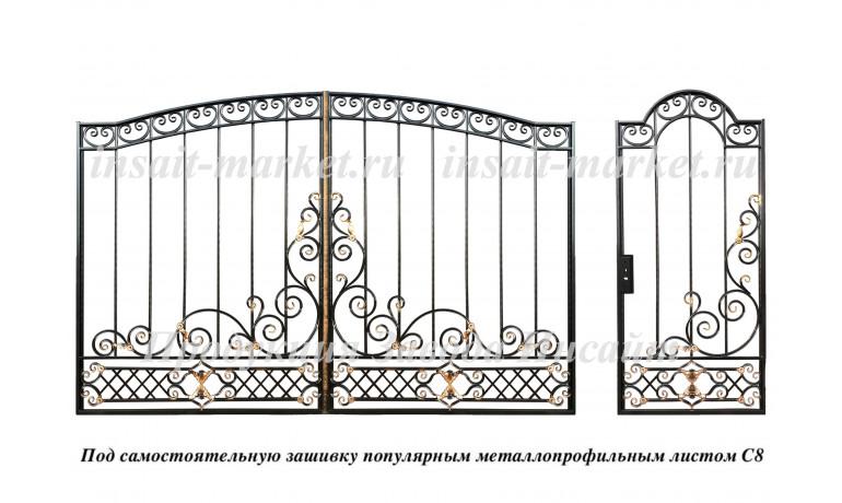 """Каркас ворот """"Персидские"""" С8"""
