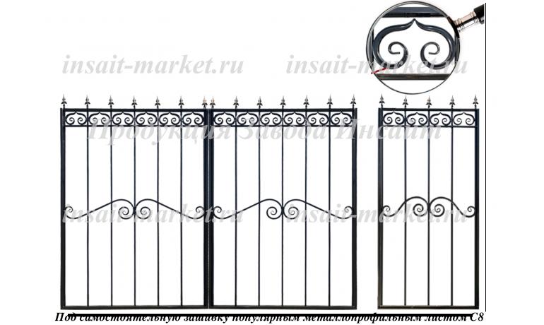 Каркас ворот С8