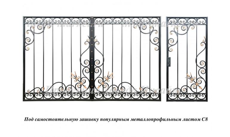 """Каркас ворот """"Стрелы Амура"""" С8"""