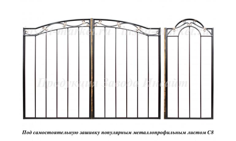 """Каркас ворот """"Весенние"""" С8"""