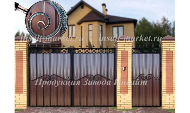 """Ворота """"МП"""" С8 Арт"""