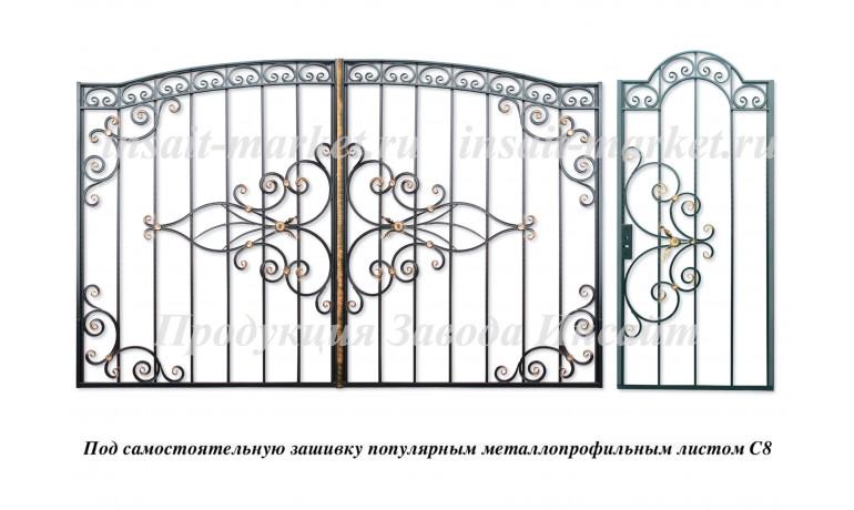 """Ворота """"Олимпия С8 Арочные"""""""