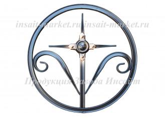 Кольцо с крестиком
